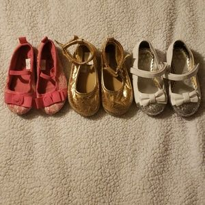 Toddler girl size 6 dress shoes